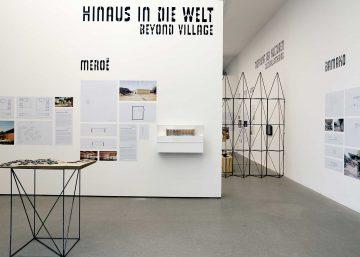 Exhibition 2016 Francis Kere Radically Simple Ausstellungsdesign Architekturmuseum TUM