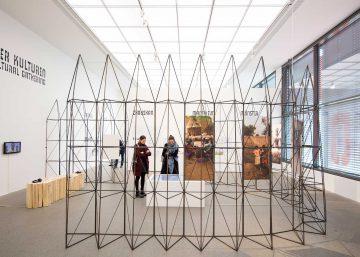 Exhibition 2016 Francis Kere Radically Simple Ausstellungsdesign Daniel Schwartz