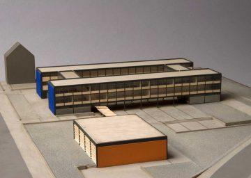 Exhibition 2014 Show And Tell Architekturgeschichten Aus Der Sammlung Rolandschule Modell