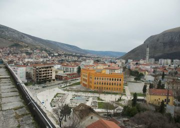 Exhibition 2014 The Good Cause Architecture Of Peace Divided Cities Spanish Square Mostar
