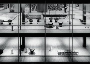 Sammlung TUM Archiv Egon Eiermann Sep Ruf Deutscher Pavillon Weltausstellung Bruessel 1958