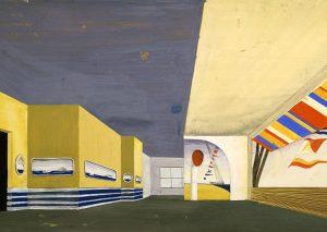 Sammlung TUM Archiv Erik Gunnar Asplund Pavillon Stockholmer Ausstellung 1930