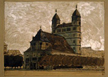 Sammlung TUM Archiv Theodor Fischer Garnisonskirche Ulm 1906