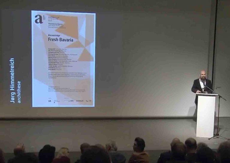 Mitschnitt der Kurzvorträge in der Pinakothek der Moderne