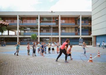 Main yard, Centro Educacional Unificado (CEU) Inácio Monteiro, São Paulo