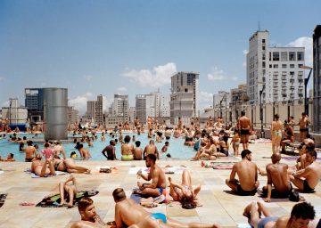 Terrace, Serviço Social do Comércio (SESC) 24 de Maio, São Paulo